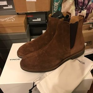 NEW Vince Felix Suede Leather Boots